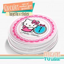 Hello Kitty - Círculo Multiuso Para Imprimir
