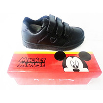 Zapatillas Escolares Mickey Princesas Colegio Nena Nene