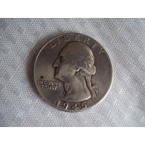 Cuarto De Dolar De Plata, 1945