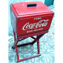 Heladera/conservadora Coca Cola A Hielo Con Base De 1950