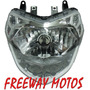 Optica Delantera Bajaj Rouser 135 Farol En Freeway Motos !!