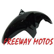 Guardabarro Del Yamaha Ybr 125 Mod 2012 Negro Freeway Motos