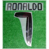 Numeracion Real Madrid 2010/11 Kaka O Higuain Ronaldo Gago.