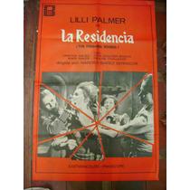 Afiche Original La Residencia - Narciso Ibáñez Serrador
