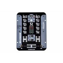 Mixer Dj Moon Mdj206 Usb 2 Chn 7 Entradas Consola Mezclador
