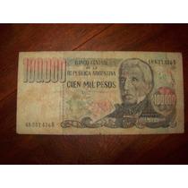 Billete 100.000 (cien Mil) Pesos Serie B