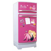 Barbie Glam Heladera Original Con Accesorios Miniplay