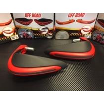 Cubre Puños - Manos Honda Falcon Rojos = A Acerbis Dual Road