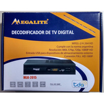 Decodificador De Tv Digital Tda Megalite Mkl-2015