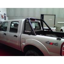 Barras Antivuelco Ford F100 99+ Duty Negra O Gris Plata