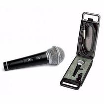 Micrófono Samson R21s + Pipeta + Cable Dinamico Cardioide