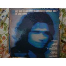 Vinilo Roberto Carlos En Castellano Vol 2