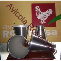 Embudo De Aluminio Para Facilitar La Faena.somos Fabricantes