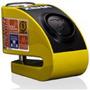 Candado Traba Disco Xena Con Alarma 120mb Xzz6l Devotobikes