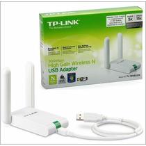 Adaptador Wifi Usb Tp Link Tl-wn 822n 300mbps 2.4ghz 2anten