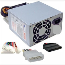 Fuente Pc Alimentacion 500w 24 Pines 20+4 Sata Atx Pc