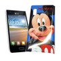 Funda Acrilico Lg E610 E612 Optimus L5 Mickey Mouse Mod:153