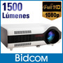 Proyector Full Hd Portatil Hdmi 1500 Lumens 100 Pulgada Mini