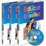 Como Educar Ademas De Enseñar 3 Vol.+ Cd Color- Oceano