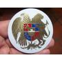 Escudo De Armenia En Bronce Gabado