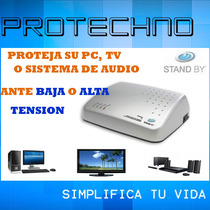 Estabilizador De Tension Px10 Stand By 1000va 2 Pc 4 Tomas