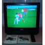 Tv Sanyo 21 Mod. Clp 2151 Pantalla Plana C/ Control Y Manual