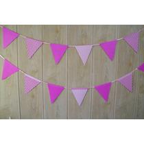 Banderines De Papel P/ Decorar Guirnaldas Cumpleaños