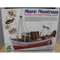 Artesania Latina Pesquero Mare Nostrum 1/35 Kit De Madera 1/