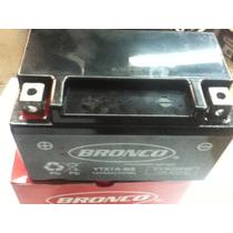 Bateria Original Bronco Ytx7abs Tecnologia Agm Libre Mant