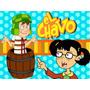 Kit Imprimible El Chavo Del 8 Candy Bar Golosinas Tarjetas