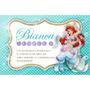 Kit Imprimible Sirenita Disney Decoración Fiestas Cumpleaños