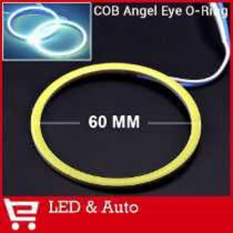 Ojos De Angel Cob 60mm - Excelente Luminosidad -