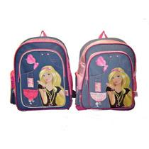 Mochila Espalda Barbie 16040 Jean Grande 40cm Original