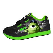 Zapatillas Disney Monster University Con Luces Mundo Manias