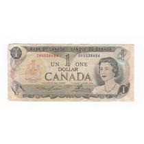 Billete 1 Dolar Canada 1973 - Serie Escenas De Canadá