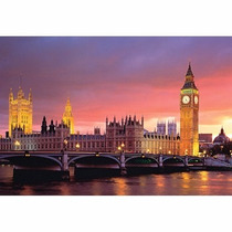 Rompecabezas Puzzle Parlamento De Londres Tomax X1000 Piezas