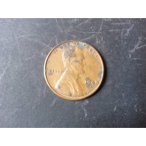 Moneda One Cent Lincoln Centavo Dollar 1948 S