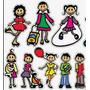 Familia Feliz Calcomanias P/autos En Colores!