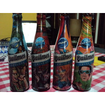 Quilmes - 4 Botellas Serie Rock -