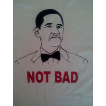 Remeras Y Buzos Meme Obama Not Bad! En Vinilo!