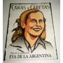 Evita Eva Peron Revista Caras Y Caretas
