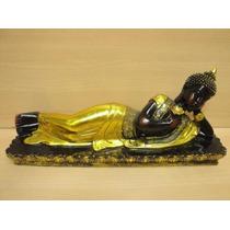 Buda Tailandes Recostado Grande 37cm