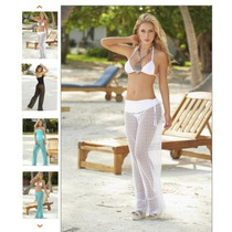 Pantalon De Encaje Forrado Corto, Jean,remeras,polleras