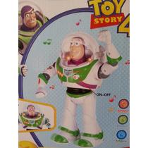 Buzz Lightyear Muñeco Toy Story Camina! Luz Y Sonido Gtia.