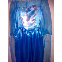 Disfraz De Princesa Elsa Frozen Princesa De Hielo Alt.