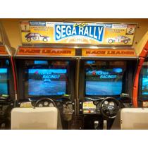 Sega Rally 1 Cabina De Manejo Doble Funcionando