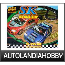 Pistas De Scalextric Slot Rally 4x4 Luces Compatible Scx