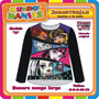 Remera Manga Larga Monster High - Originales - Mundo Manias