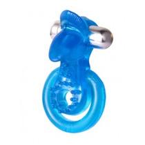Anillo Vibrador Doble Con Lengua Estimulador 7 Func Sexshops