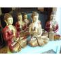 Budas De Yeso Pintados A Mano